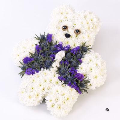 Teddy Bear Tribute (Blue) - from £90.00